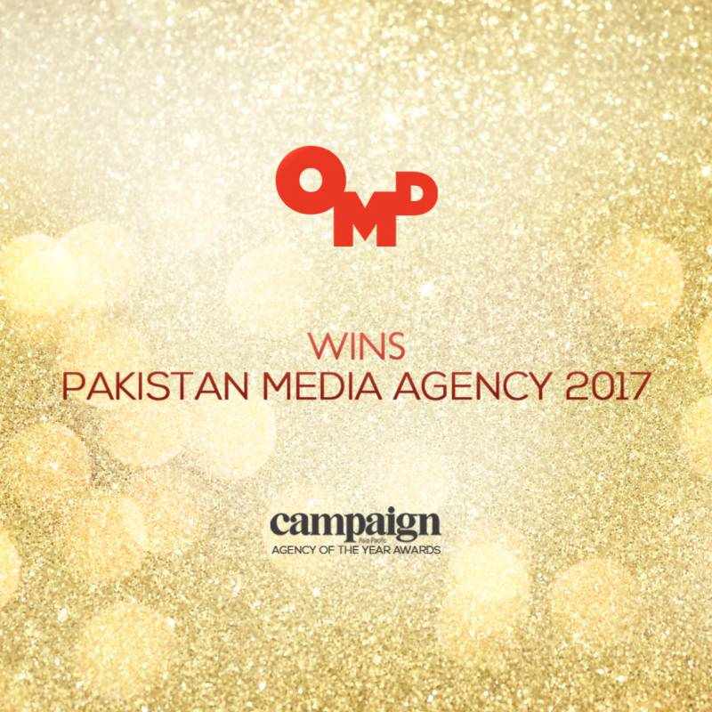 OMD Pakistan named 'Media Agency of the Year' for the second year in a row