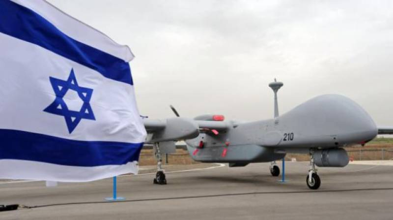 Two Palestinians killed in Isareli drone attack