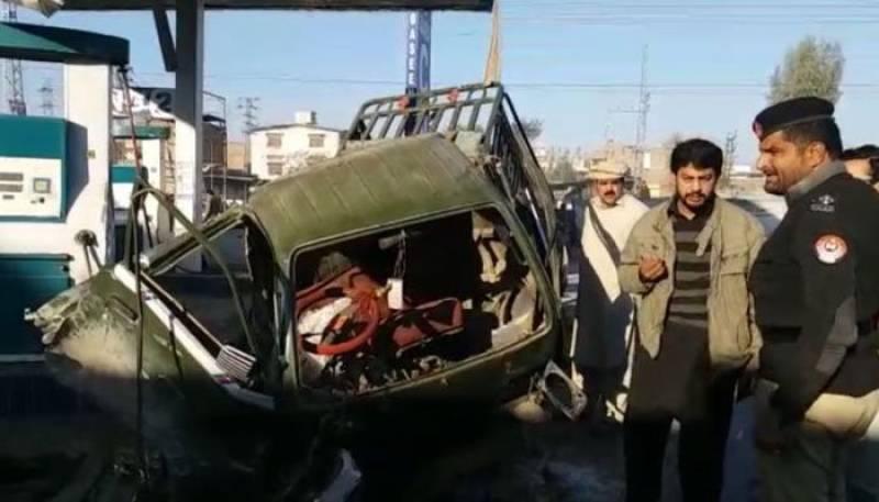 CNG cylinder explosion injures 11 in Peshawar
