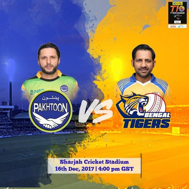 T10 Cricket League, Day 3: Pakhtoons vs Bengal Tigers — Live Score & Live Steaming