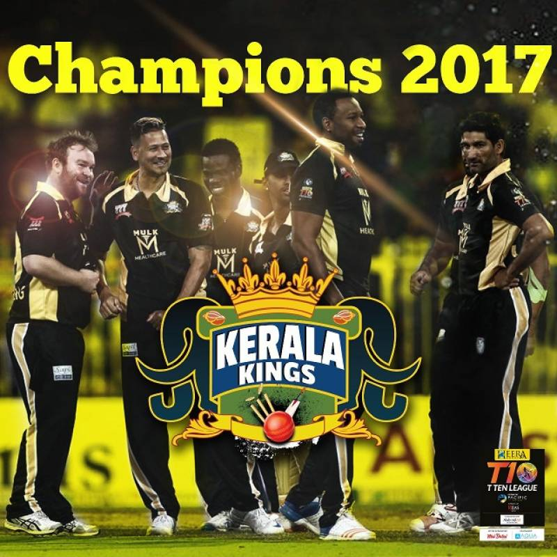 Kerala Kings beat Punjabi Legends to win T10 League 2017
