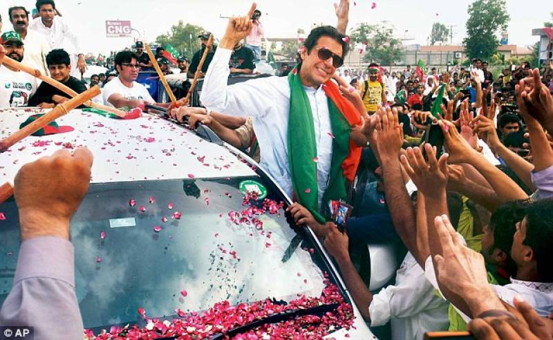 PTI claims ex-PM's son attacked Imran Khan's convoy near Lahore