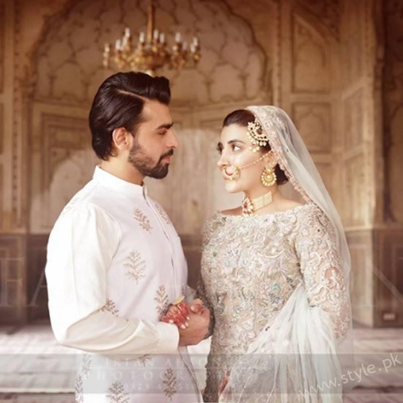 Urwa and Farhan - Happy First Wedding Anniversary!