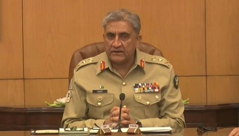 COAS Gen Bajwa briefs Senate committee on national security