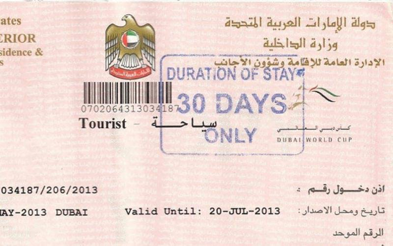 Dubai visit visa temporarily closed for Pakistanis: TAA