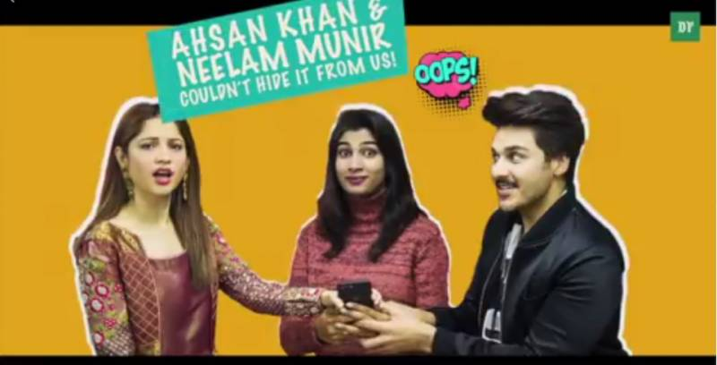So what couldn't Neelam Munir and Ahsan Khan hide from us?