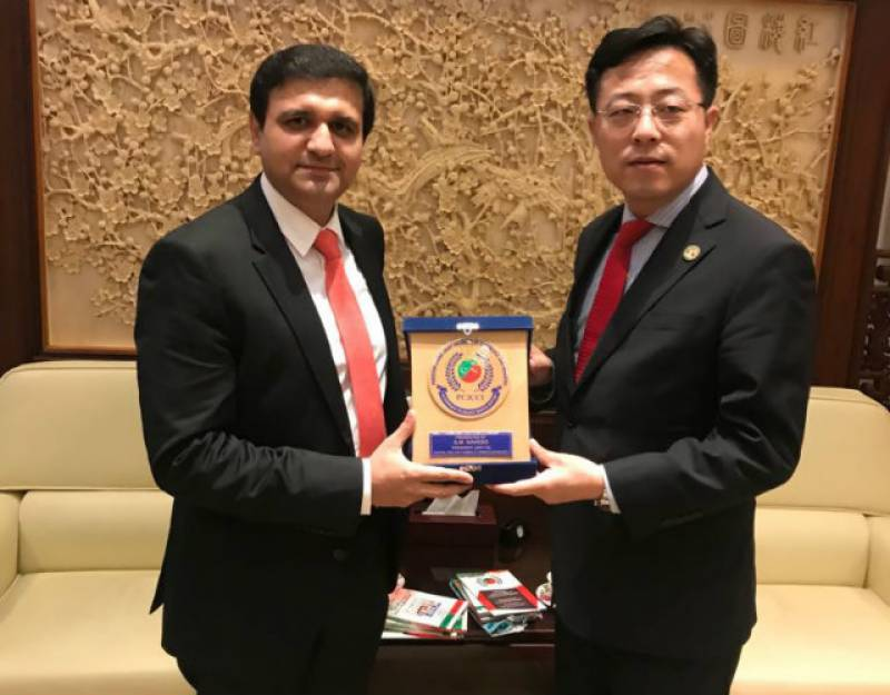 Top Chinese diplomat lauds PCJCCI for bridging communication barriers