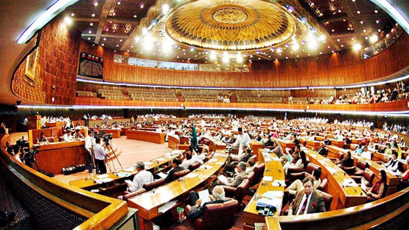 Opposition stages ninth consecutive walkout from NA over FATA reforms bill