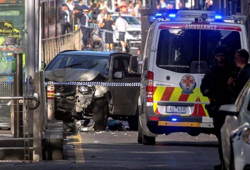 VIDEO: 13 injured as SUV driver rams into pedestrians in Australia