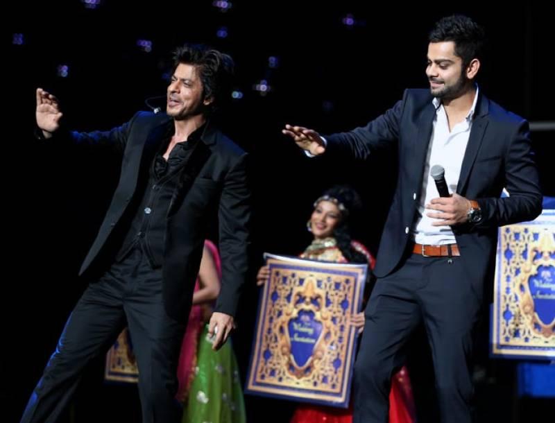 Virat Kohli takes the crown from Shah Rukh Khan