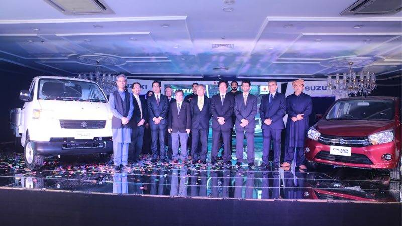 Pak Suzuki challenges rivals with four new products