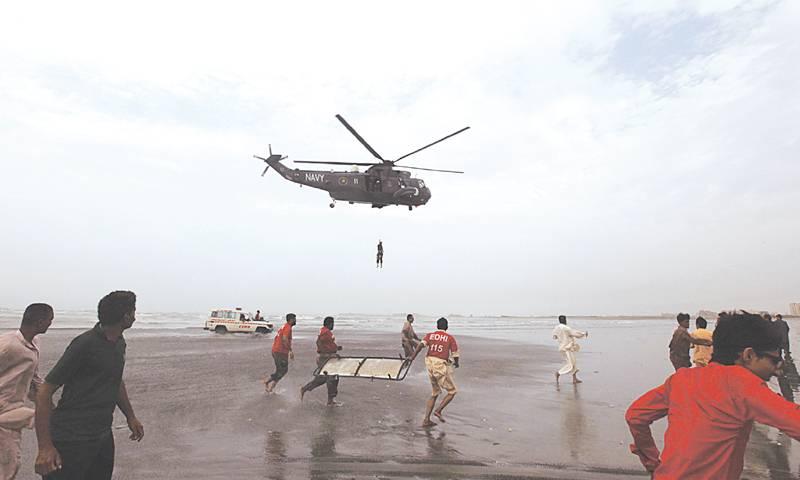 Swimming at Karachi beaches banned ahead of Christmas