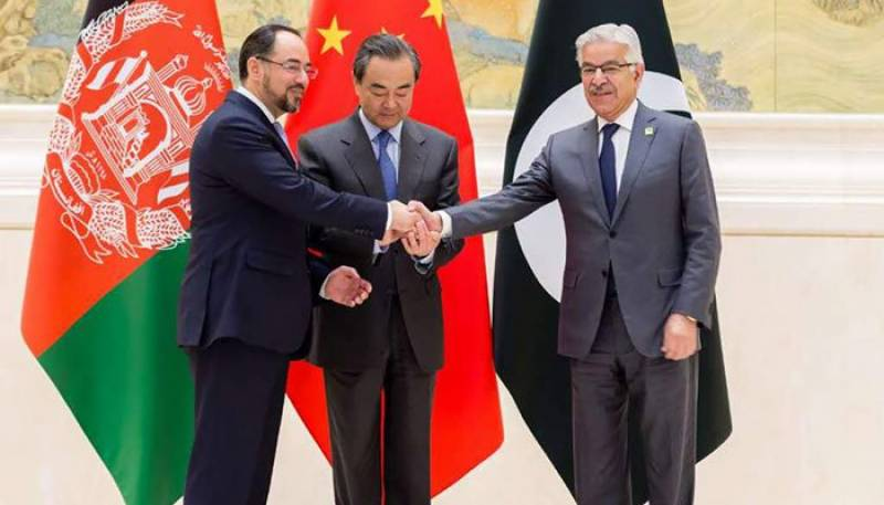 Pakistan-China-Afghanistan agree to promote political reconciliation