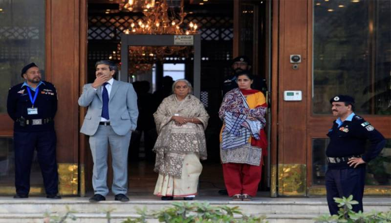 Shoes of Jadhav's wife suspected to have metallic object, says FO