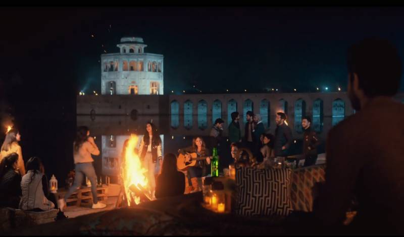 7up releases a new bonfire song amid season of joy