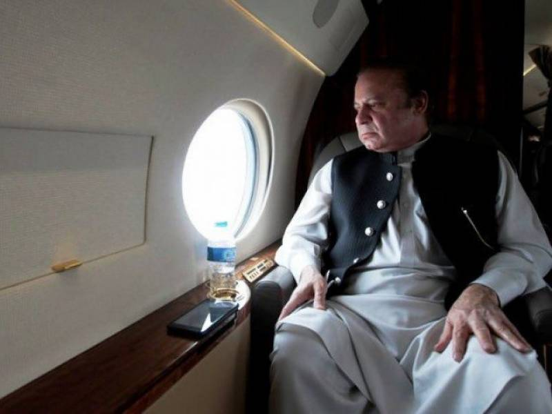 Nawaz Sharif leaves for Saudi Arabia to join Shehbaz, Saad Rafique