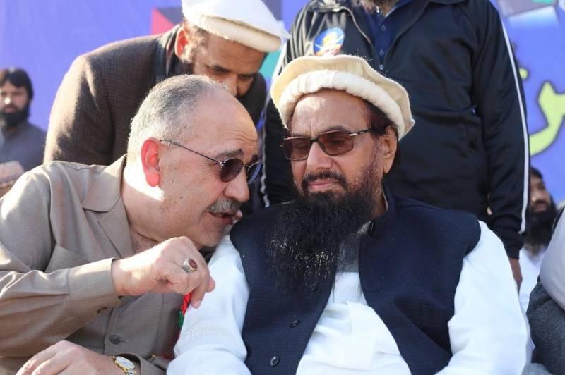 Palestine recalls envoy for attending Difa-e-Pakistan rally with Hafiz Saeed