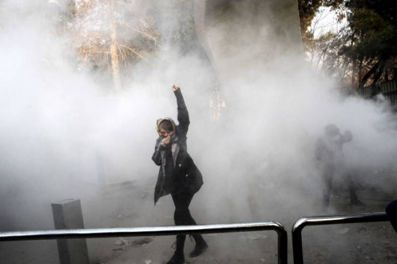 At least 10 killed as anti-government protests turn violent in Iran