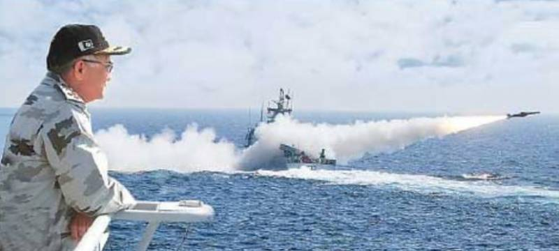 VIDEO: Pakistan Navy test fires new Harba cruise missile from PNS Himmat