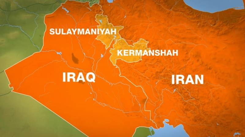 5.1 magnitude earthquake rocks Iran's Kermanshah province