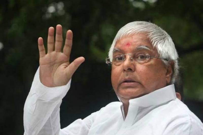 Ex-Indian CM Lalu Prasad jailed for embezzlement