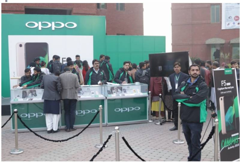 #OPPOF5Youth: Chinese phone-maker targets its primary audience at UCP