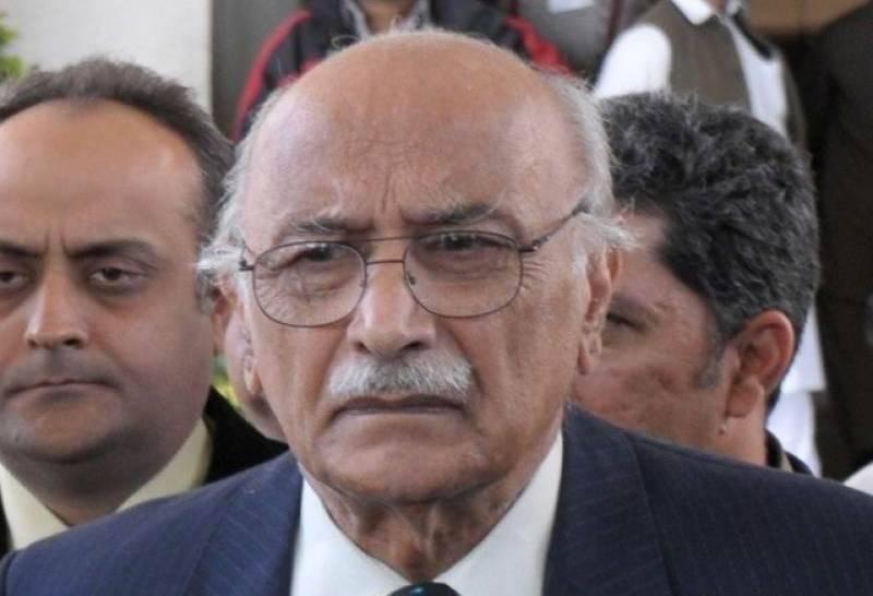 PM Abbasi, military bigwigs attend Asghar Khan's state funeral