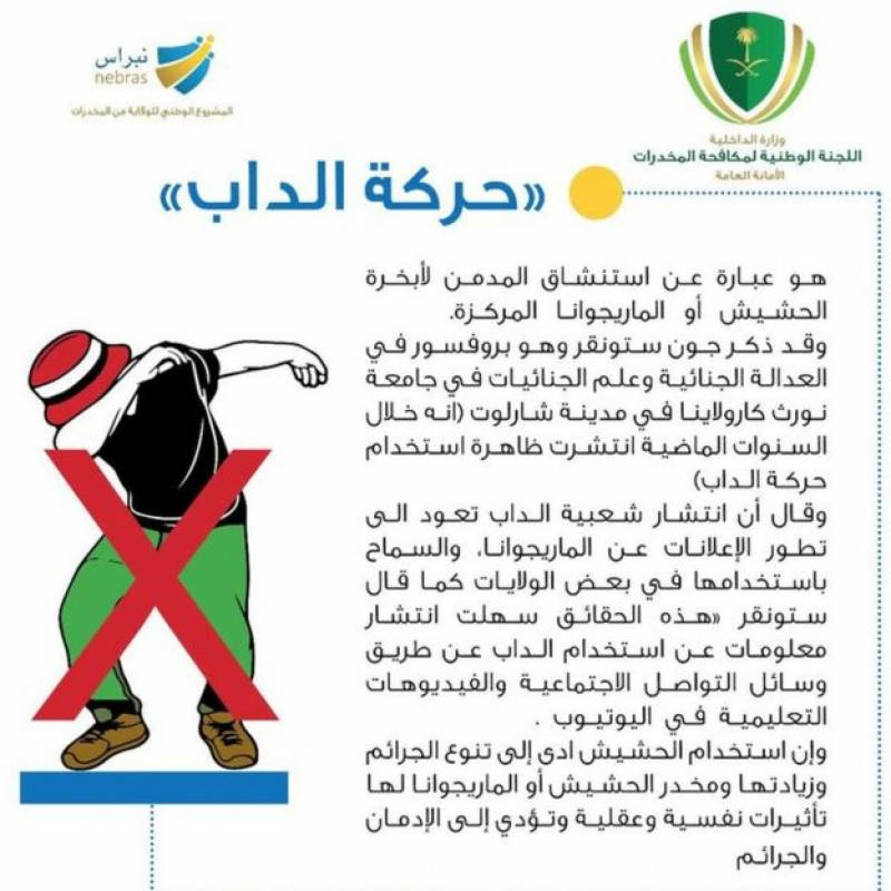 Saudi footballer in trouble for dabbing during game