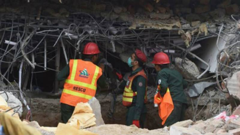 Six dead in Lahore house collapse