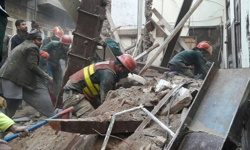 Two children dead in Lahore roof collapse