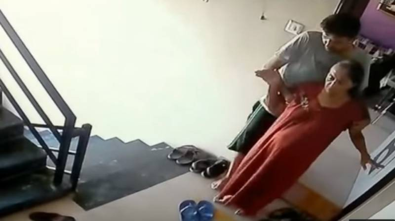 WATCH: Indian professor kills ailing mother by throwing her off terrace