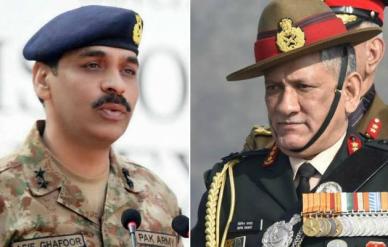 Indian army chief gets perfect reply from ISPR over 'Pakistan's nuclear bluff' statement