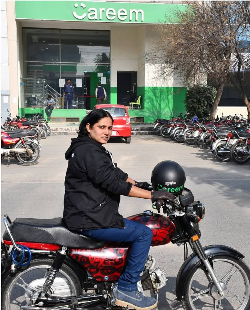 Careem welcomes first ever female bike captain