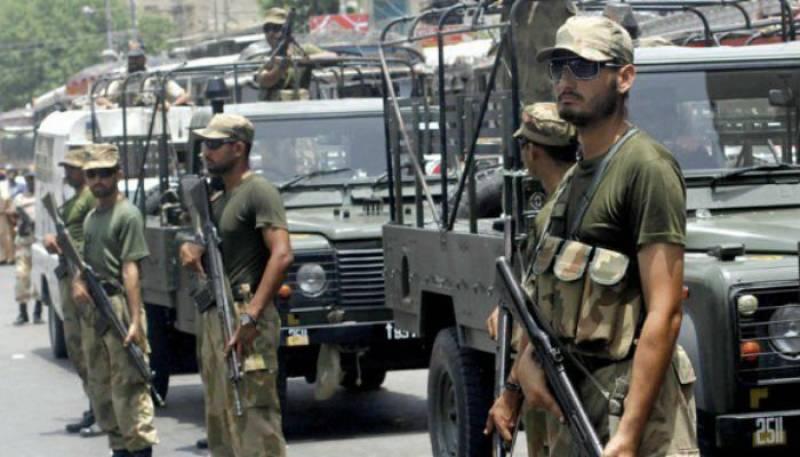DG Khan: Two terrorists killed in Rangers operation