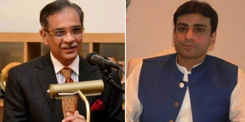 Top judge orders to remove barriers outside Hamza Shehbaz's Lahore residence