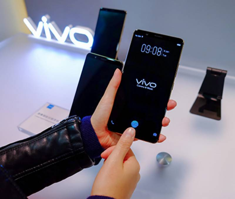 Vivo to launch world's first in-display fingerprint scanning smartphone