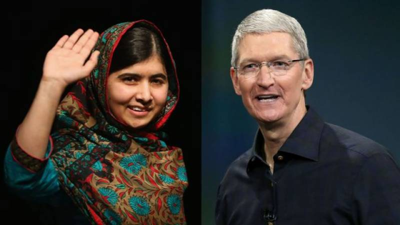 Apple's Tim Cook takes initiative to join Malala to support girl's education