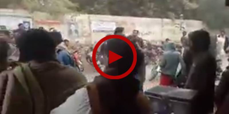 Brawl erupted in Rahim Yar Khan over love marriage issue