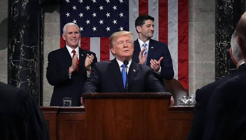 Here is full text of Donald Trump's speech at State of the Union