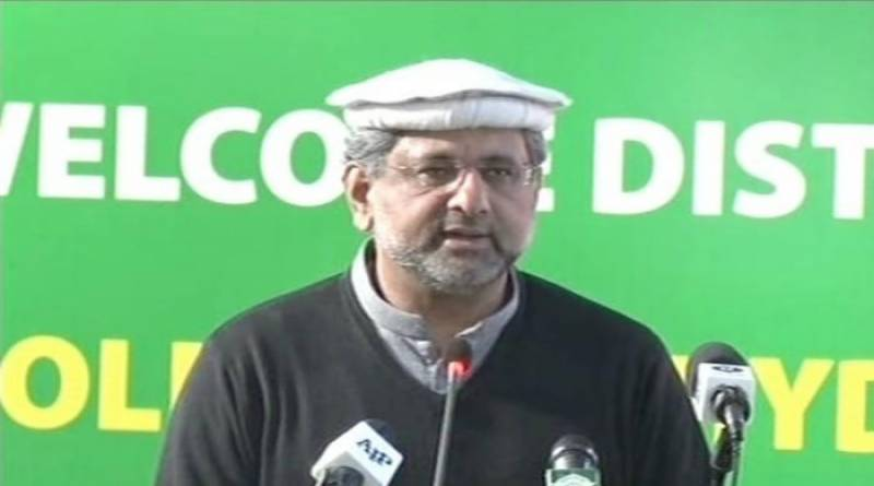 PM Abbasi inaugurates Golen Gol Hydropower project in Chitral