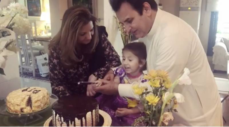 Behroze Sabzwari's granddaughter singing birthday song for her grandfather is the cutest thing you'll see today