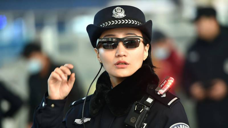 Chinese police use facial-recognition glasses to catch criminals