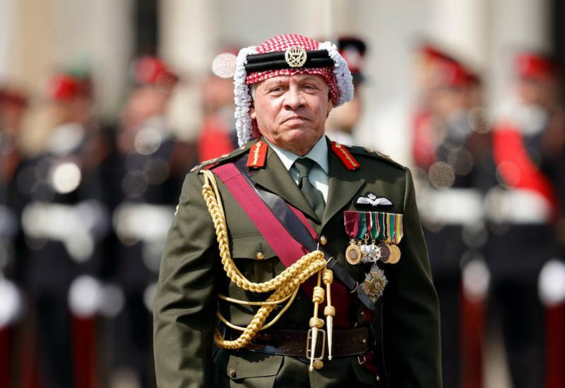 Pakistan welcomes King of Jordan Abdullah II