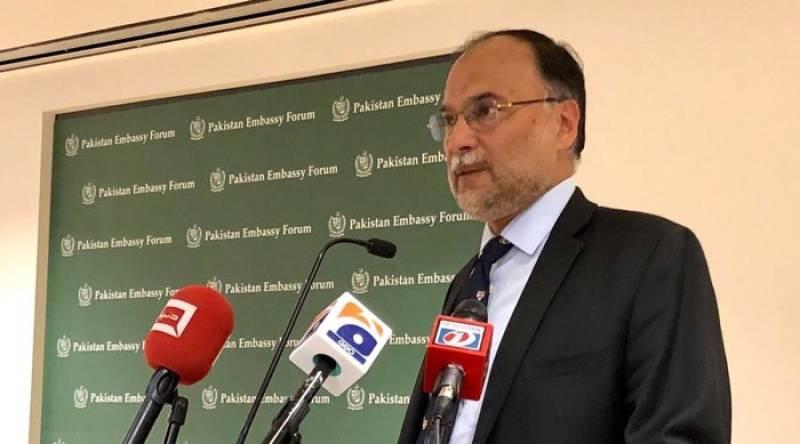 CPEC to usher in era of prosperity in entire region, says Ahsan Iqbal