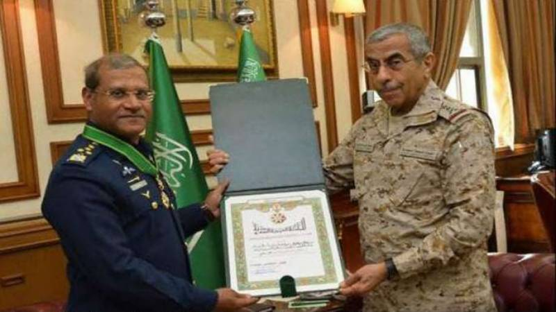 PAF Chief Sohail Aman awarded King Abdul Aziz Medal of Excellence
