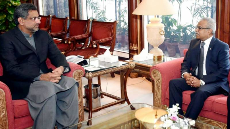 PM Abbasi reaffirms policy of non-interference in other countries' affairs