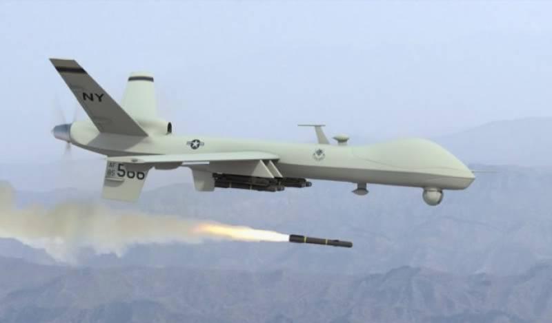 Three 'militants' killed in US drone strike in North Waziristan