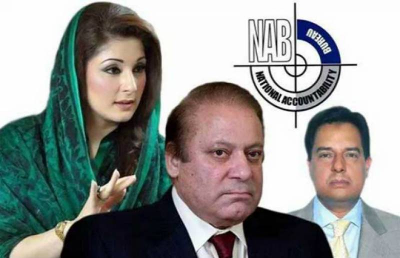 Put Nawaz Sharif, Maryam and Safdar's names on ECL, NAB requests Interior Ministry