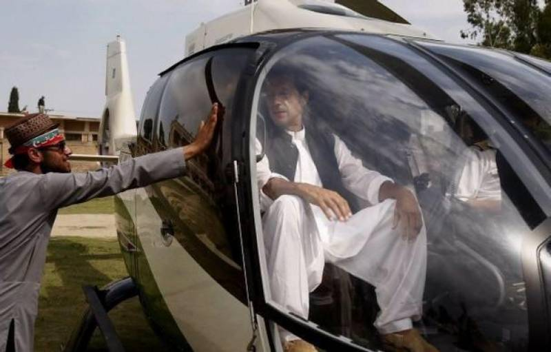 NAB begins probe into Imran Khan's use of KP CM's helicopter