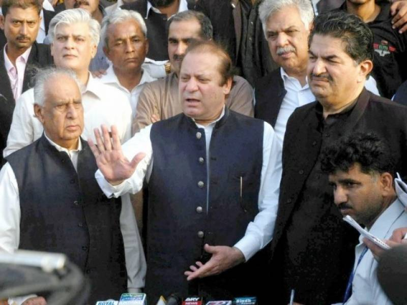 'Deliberations being made to disqualify me for life,' says Nawaz Sharif